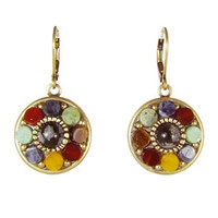 Michal Golan Earthly Flower Earrings