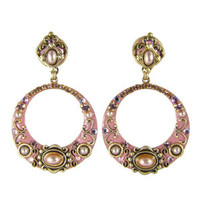 Michal Golan Pretty In Pink Earrings