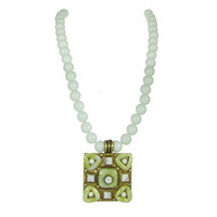 Michal Golan Key Lime Pendant n2007