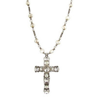 Michal Golan Cross Pendant N1274