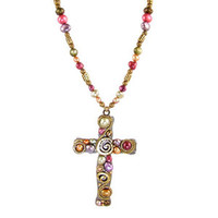 Michal Golan Cross Pendant N1167