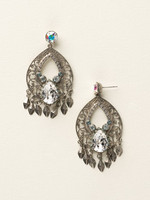 SEASIDE CRYSTAL EARRINGS BY SORRELLI~ECY45ASSEA
