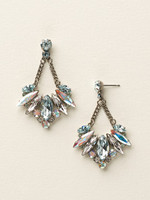 SEASIDE CRYSTAL EARRINGS BY SORRELLI~ECY16ASSEA