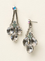 SEASIDE CRYSTAL EARRINGS BY SORRELLI~ECY2ASSEA