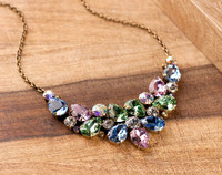 SPRING RAIN CRYSTAL NECKLACE BY SORRELLI~NCP3AGSPR