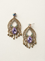SPRING RAIN CRYSTAL EARRINGS BY SORRELLI~ECY45AGSPR