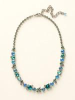 Sorrelli Sea Glass Crystal Necklace~NCF6ASSGL