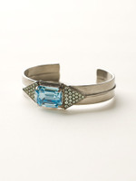 Sorrelli Sea Glass Crystal Cuff~BCW16ASSGL