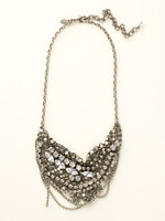 Sorrelli Crystal Clear  Necklace~NCR129ASCCL