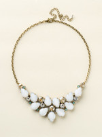 Sorrelli Riverstone Crystal  Necklace~ NCP3AGRIV