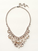 Sorrelli Satin Blush Crystal  Necklace~ NCZ15ASSBL