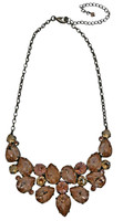 Sorrelli Satin Blush Crystal  Necklace~ NCP3ASSBL
