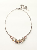 Sorrelli Satin Blush Crystal  Necklace~ NCT13ASSBL