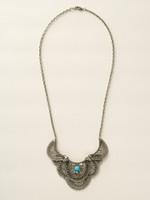 Sorrelli Sea Glass Crystal Necklace~NCY29ASSGL