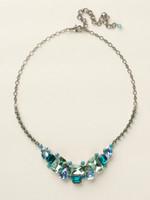 Sorrelli Sea Glass Crystal Necklace~NCT13ASSGL