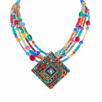 MICHAL GOLAN MULTI BRIGHT NECKLACE~N1805