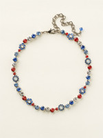**SPECIAL ORDER**Sorrelli Stars and Stripes Necklace~NBE2ASUSA
