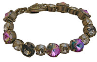 **RARE & RETIRED**VIOLET EYES Crystal Bracelet by Sorrelli~BCM16ASVE