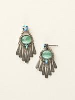 Sorrelli Sea Glass Crystal Earrings~ECY3ASSGL
