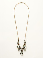 **SPECIAL ORDER**Sorrelli City Neutral  Crystal Necklace~NCR77AGCN