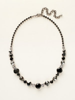**SPECIAL ORDER** MIDNIGHT MOON  CRYSTAL NECKLACE  BY SORRELLI~NCP38ASMMO
