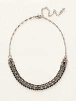 **SPECIAL ORDER**  MIDNIGHT MOON  CRYSTAL NECKLACE  BY SORRELLI~NCN5ASMMO