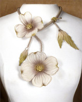 SARAH CAVENDER FLORAL NECKLACE~22164S