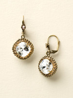 **SPECIAL ORDER**NEUTRAL TERRITORY CRYSTAL EARRINGS BY SORRELLI~ECB20AGNT