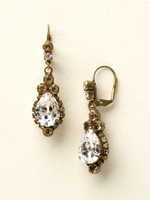 NEUTRAL TERRITORY CRYSTAL EARRINGS BY SORRELLI~ECM19AGNT