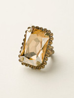 **SPECIAL ORDER**NEUTRAL TERRITORY CRYSTAL RING BY SORRELLI~RBT69AGNT