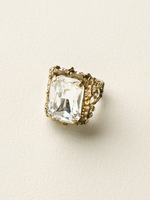**SPECIAL ORDER**NEUTRAL TERRITORY CRYSTAL RING BY SORRELLI~RCK2AGNT