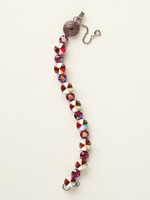 **SPECIAL ORDER**Cranberry Crystal Bracelet by Sorrelli~BCM16ASCB