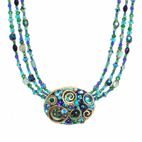 Michal Golan Emerald Collection Necklace~N3720