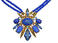 SWEET SAPPHIRE  CRYSTAL NECKLACE BY SORRELLI~NDC5BGSS