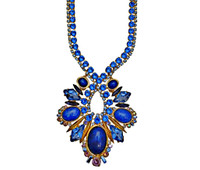 SWEET SAPPHIRE  CRYSTAL NECKLACE BY SORRELLI~NDC6BGSS