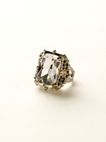 **SPECIAL ORDER**EVENING MOON CRYSTAL RING BY SORRELLI~RCK2ASEM
