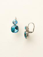 Sorrelli Blue Topaz Earrings~ECL4ASBLU