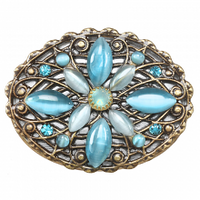 Michal Golan Atlantis Collection - Oval Pin ~ P708