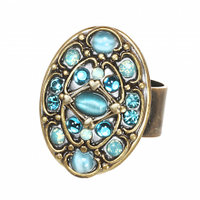 Michal Golan Atlantis Collection - Oval Ring ~ R301