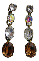NEUTRAL TERRITORY CRYSTAL EARRINGS BY SORRELLI~ ECM52AGNT