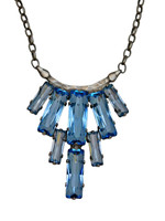 SORRELLI Teal Textile Necklace ~ NDA22ASTT