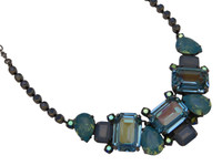 SORRELLI Teal Textile Necklace ~ NCT13ASTT
