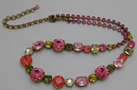 **RARE & RETIRED**Sorrelli Juicy Fruit Crystal  Necklace~ NCP38AGJF