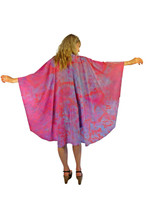 Hand Painted Silk Wrap~Franklin Street Studio~FS1019