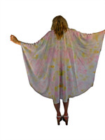 Hand Painted Silk Wrap~Franklin Street Studio~FS1026