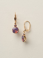 SORRELLI Soft Silhouettes Petite Cushion-cut Earrings~VIOLET OPAL~ECY56BGVIO