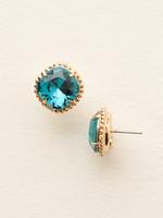 **SPECIAL ORDER**Sorrelli Essentials~Blue Topaz Crystal Earrings~EBX10BGBLU