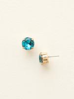 **SPECIAL ORDER**Sorrelli Essentials~Blue Topaz Crystal Earrings~ECM14BGBLU