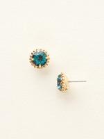 **SPECIAL ORDER**Sorrelli Essentials~Blue Topaz Crystal Earrings~EBY38BGBLU
