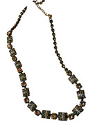 ***ONE OF A KIND***CRYSTAL PATINA Crystal Necklace by Sorrelli~NDE21AGCRP